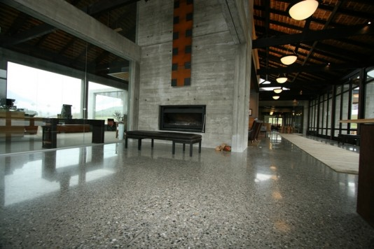Polished concrete queenstown concrete grinding concrete for Polished concrete floors nz